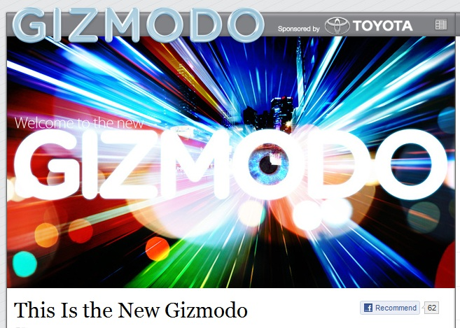 This is the new Gizmodo? Really?