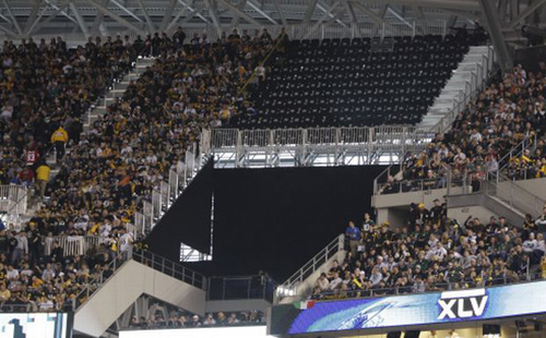 Super Bowl 45: Unused temporary seats deemed unsafe by the Fire Marshall