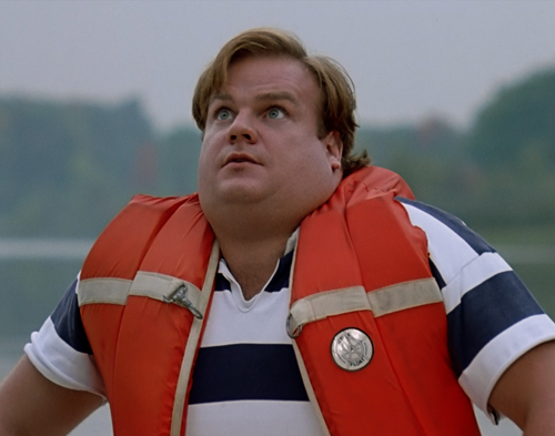"""Need a little wind here."" - Tommy Boy Callahan III"