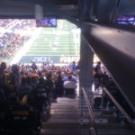 Worst seat at Super Bowl 45? I mean, I can see some of the field.