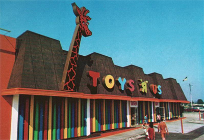 "Toys ""R"" Us Store Front (circa 1970)"