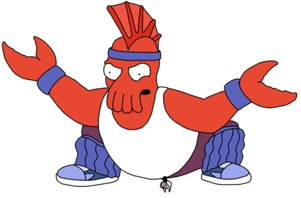 Zoidberg gets angry when you don't remove your links to his site.