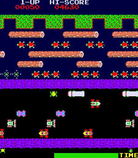 Frogger Arcade Game (1981)