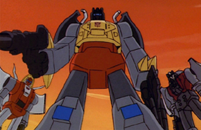 Me Grimlock demonstrating finesse. Whatever that means.