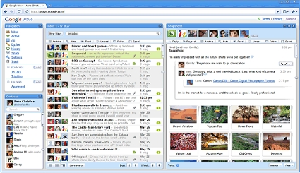 Google Wave Combines Chat, IM, Friendfeed, Docs, Pictures, etc...