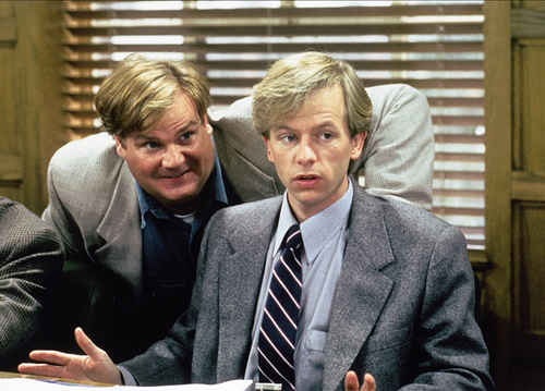 """Hmm...that's a mystery!"" - Tommy Boy"
